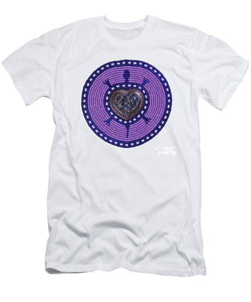 Purple Valentine 2011 Men's T-Shirt (Athletic Fit)