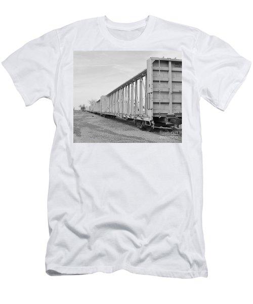 Rail Cars Men's T-Shirt (Athletic Fit)