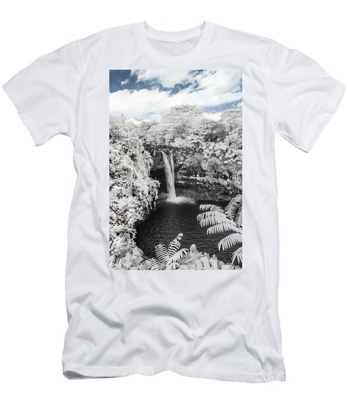 Rainbow Falls In Infrared 1 Men's T-Shirt (Athletic Fit)