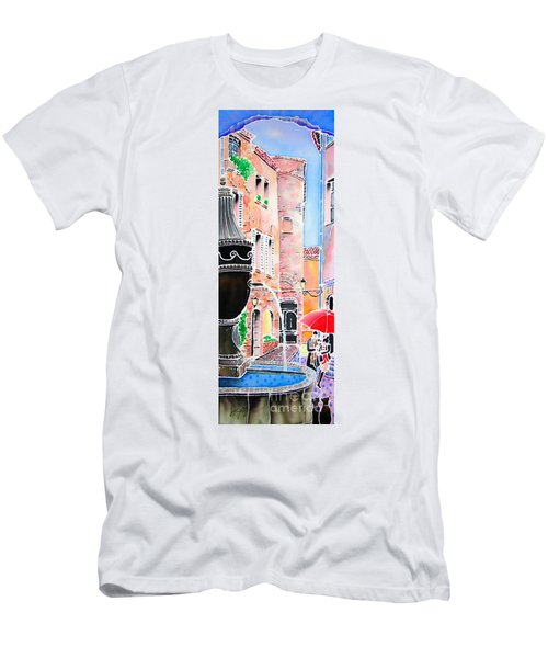 Raining In St-paul De Vence Men's T-Shirt (Athletic Fit)