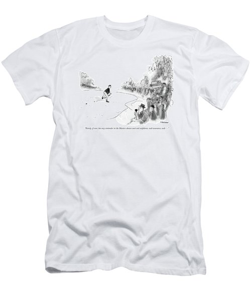 Rarely, If Ever, Has Any Contender In The Masters Men's T-Shirt (Athletic Fit)