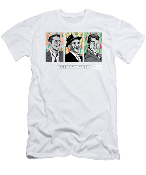 Rat Pack Pop Art Men's T-Shirt (Athletic Fit)