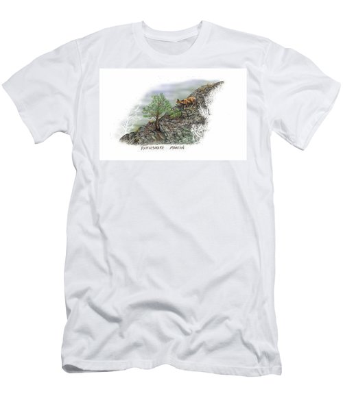 Rattlesnake Mountain Men's T-Shirt (Athletic Fit)