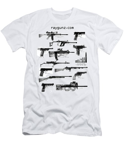 Raygunz Poster Men's T-Shirt (Athletic Fit)