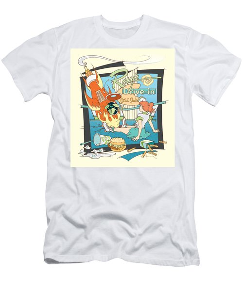 Ray's Drive-in - Redhead Men's T-Shirt (Athletic Fit)