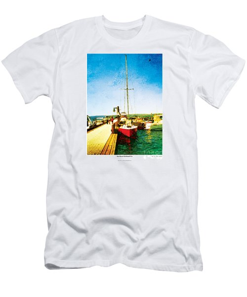 Red Boat Men's T-Shirt (Athletic Fit)