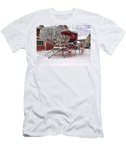 Red Buggy At Olmsted Falls - 1 Men's T-Shirt (Athletic Fit)