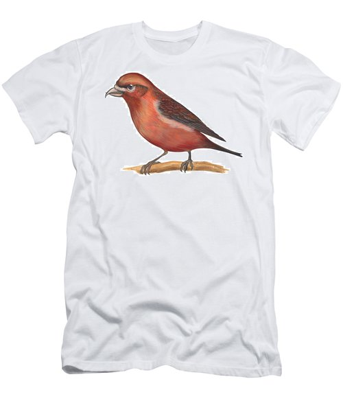 Red Crossbill Men's T-Shirt (Athletic Fit)