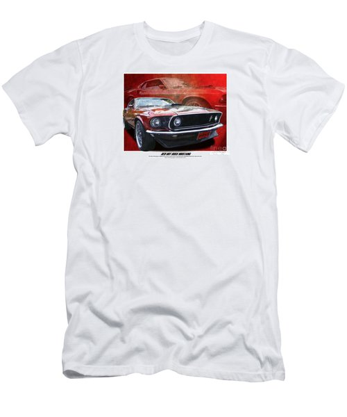 Boss Mustang Men's T-Shirt (Athletic Fit)