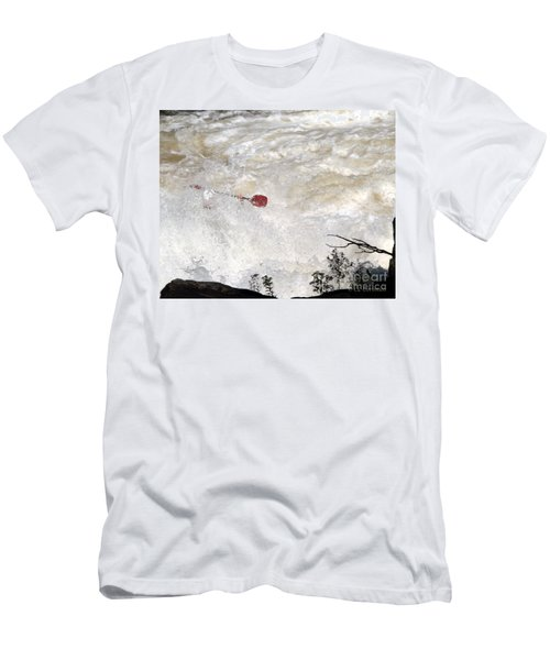 Red Paddle Men's T-Shirt (Athletic Fit)