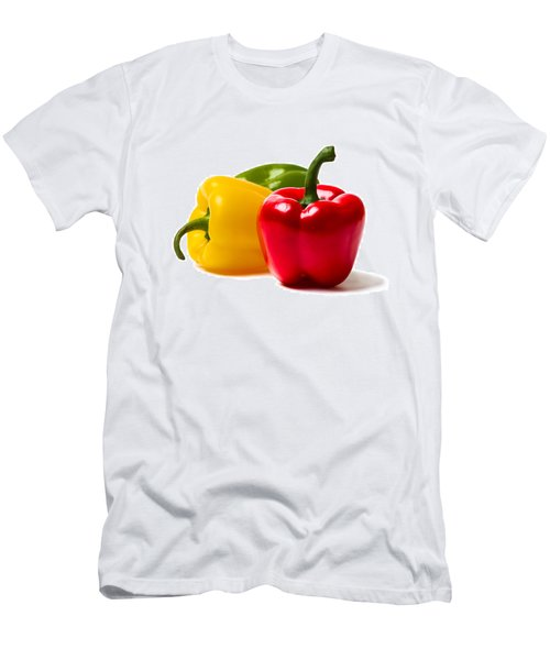 Red Sweet Pepper - Square Men's T-Shirt (Athletic Fit)