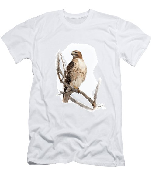 Red Tail Hawk Men's T-Shirt (Athletic Fit)