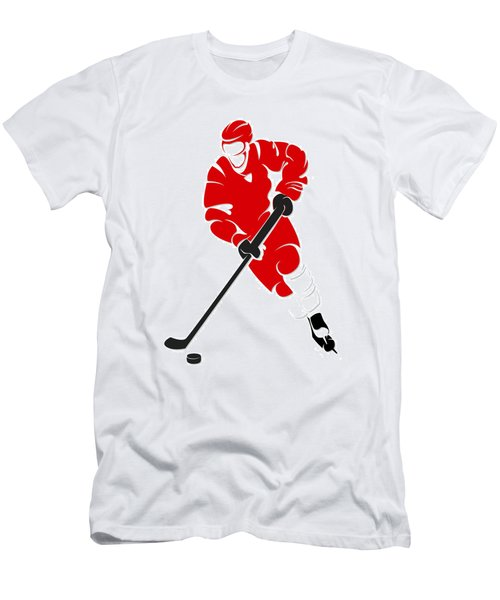 Red Wings Shadow Player Men's T-Shirt (Athletic Fit)