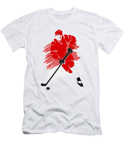 Red Wings Shadow Player2 Men's T-Shirt (Athletic Fit)