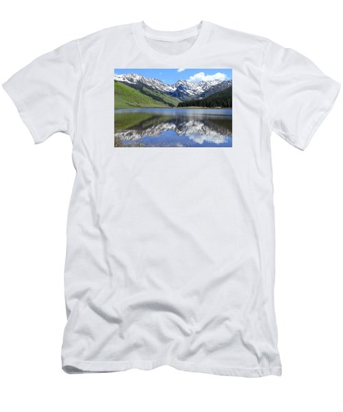 Reflection Of Beauty Men's T-Shirt (Athletic Fit)
