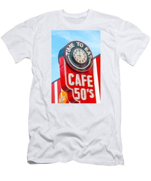 Retro Cafe Men's T-Shirt (Athletic Fit)