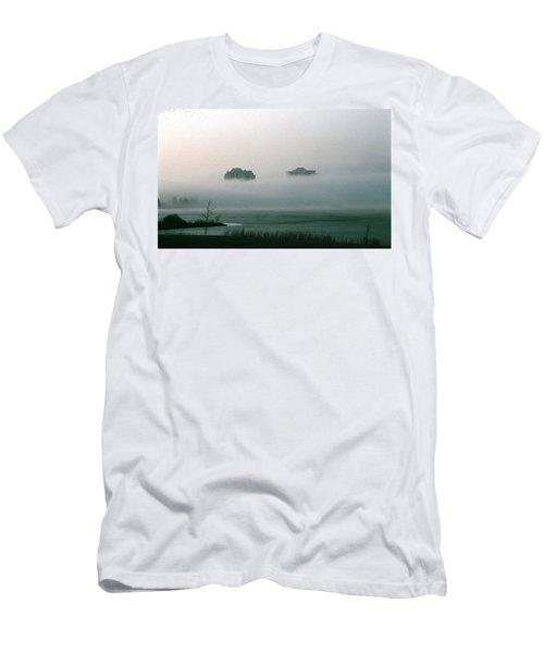 Rising From The Mist Men's T-Shirt (Athletic Fit)
