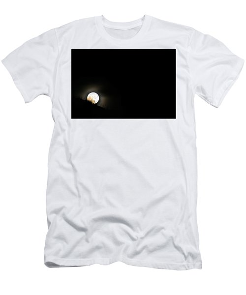 Rising Moon Men's T-Shirt (Athletic Fit)