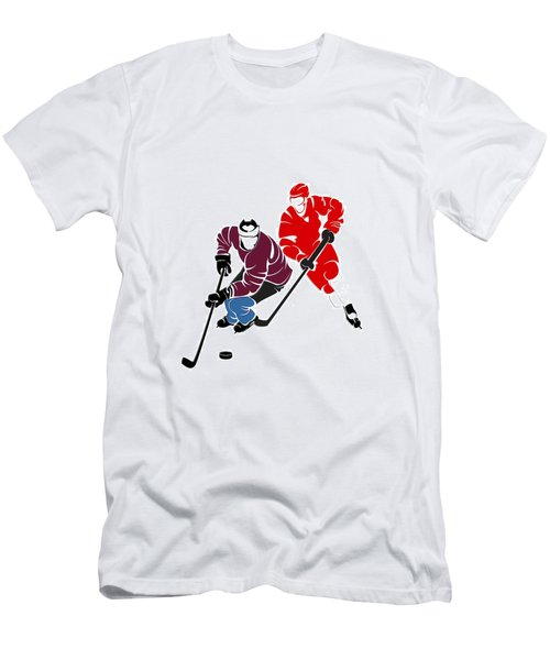 Rivalries Avalanche And Red Wings Men's T-Shirt (Athletic Fit)