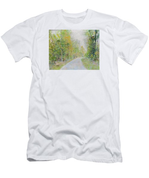 Country Road  Men's T-Shirt (Athletic Fit)