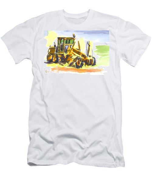 Roadmaster Tractor In Watercolor Men's T-Shirt (Athletic Fit)
