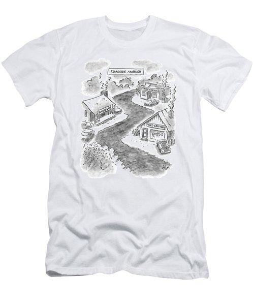Roadside Ambush Men's T-Shirt (Athletic Fit)