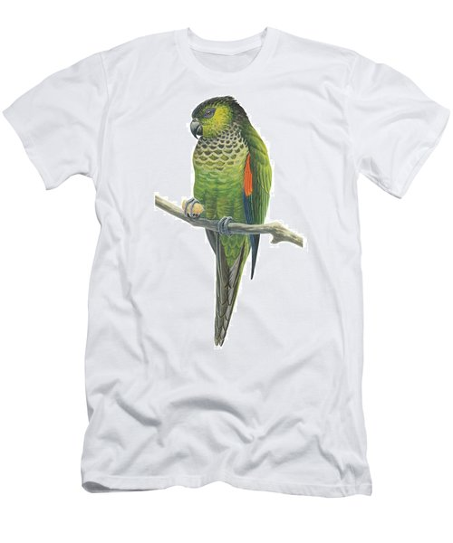 Rock Parakeet Men's T-Shirt (Athletic Fit)