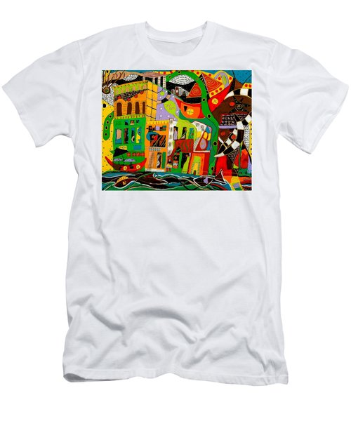 Rockland Men's T-Shirt (Slim Fit) by Clarity Artists