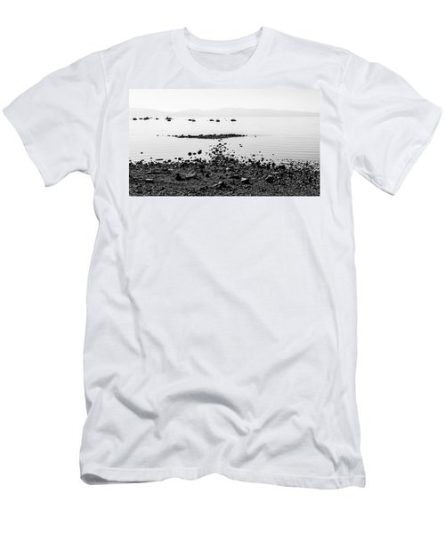 Rocky Beach Men's T-Shirt (Athletic Fit)
