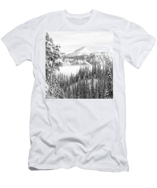 Rocky Mountain Vista Men's T-Shirt (Slim Fit) by Cheryl Miller