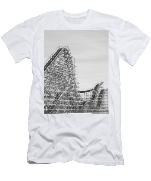 Roller Coaster Wildwood Men's T-Shirt (Athletic Fit)