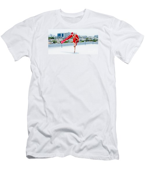 Roof Top II Men's T-Shirt (Slim Fit) by Gregory Worsham