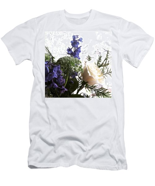 #rose #flowers Men's T-Shirt (Slim Fit)
