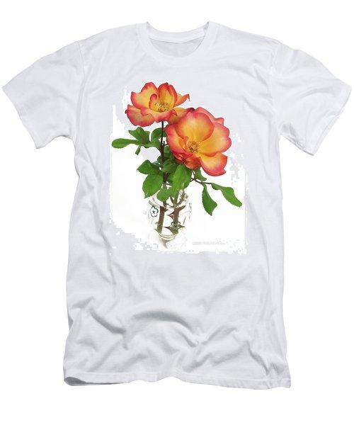 Rose 'playboy' Men's T-Shirt (Athletic Fit)