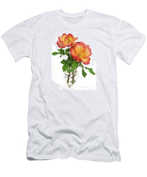 Rose 'playboy' Men's T-Shirt (Athletic Fit)