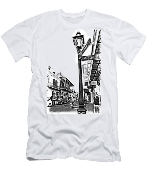 Royal Afternoon Monochrome Men's T-Shirt (Athletic Fit)
