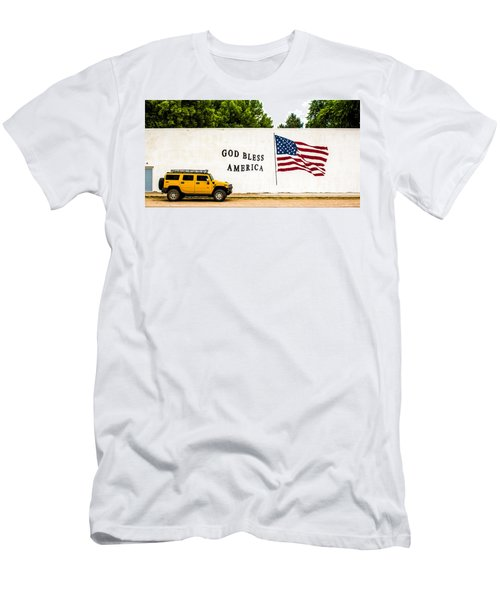Rural America Wall Mural Men's T-Shirt (Athletic Fit)
