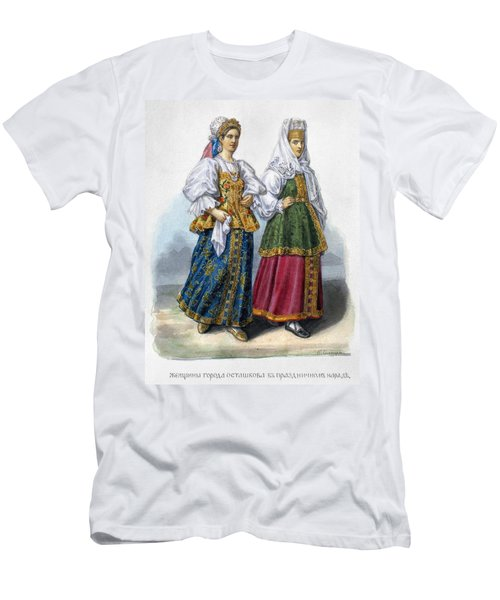 Russian Women Men's T-Shirt (Athletic Fit)