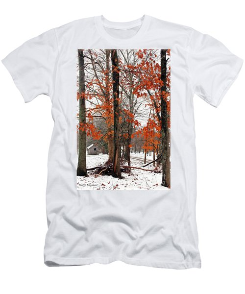 Rustic Winter Men's T-Shirt (Athletic Fit)