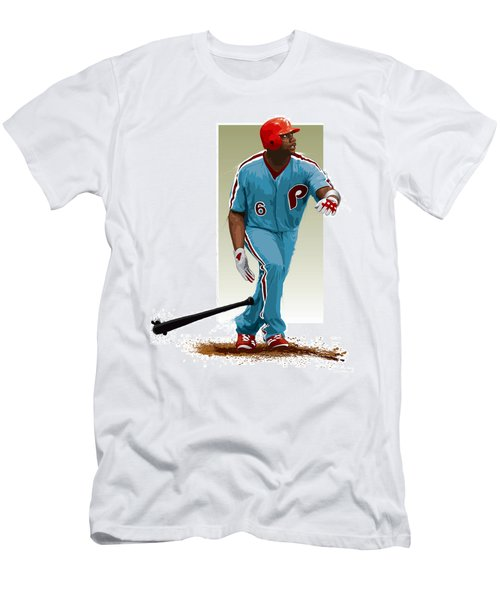 Ryan Howard Men's T-Shirt (Slim Fit) by Scott Weigner