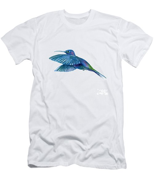 Sabrewing Hummingbird Men's T-Shirt (Athletic Fit)