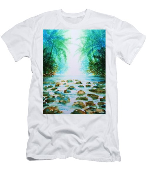Sacred Pools Men's T-Shirt (Athletic Fit)