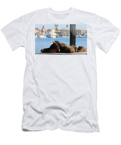 Sailing Dreams  Men's T-Shirt (Athletic Fit)