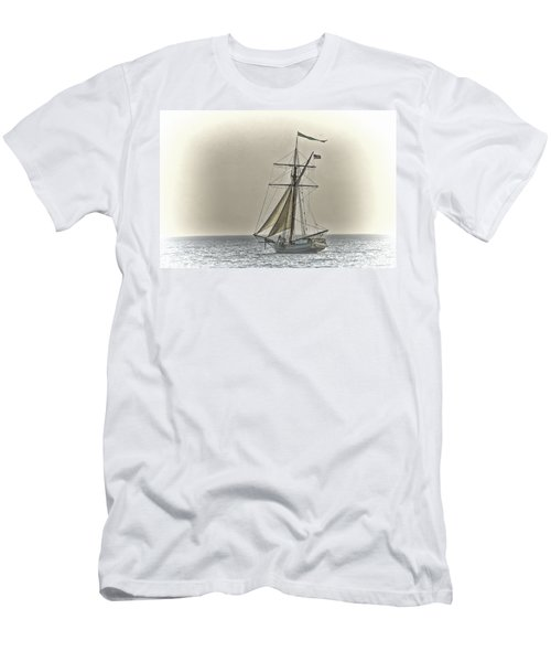 Sailing Off Men's T-Shirt (Athletic Fit)