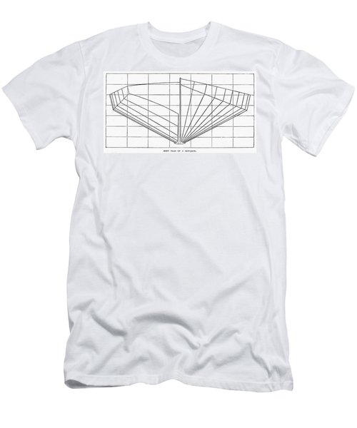 Sailing Ship: Plan, 1882 Men's T-Shirt (Athletic Fit)