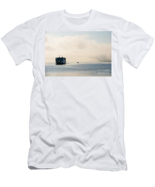 Salish Into The Fog Men's T-Shirt (Athletic Fit)