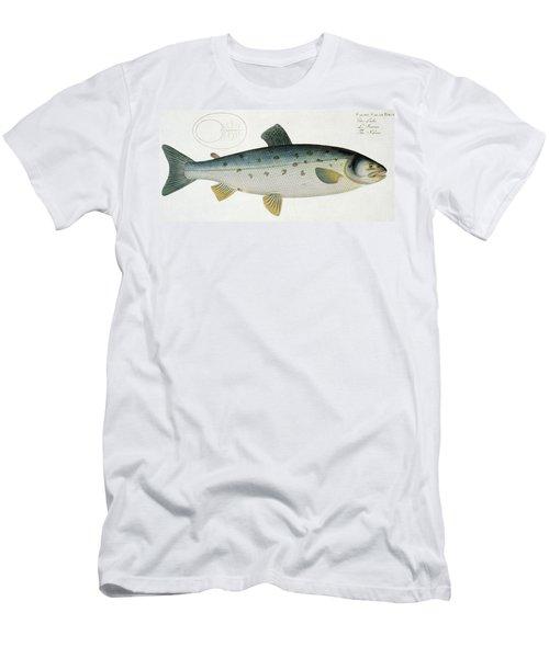 Salmon Men's T-Shirt (Athletic Fit)