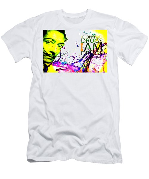 Salvador Dali Pop Art Men's T-Shirt (Athletic Fit)