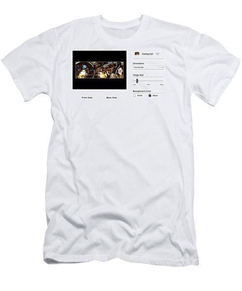 Sample Greeting Card Men's T-Shirt (Athletic Fit)