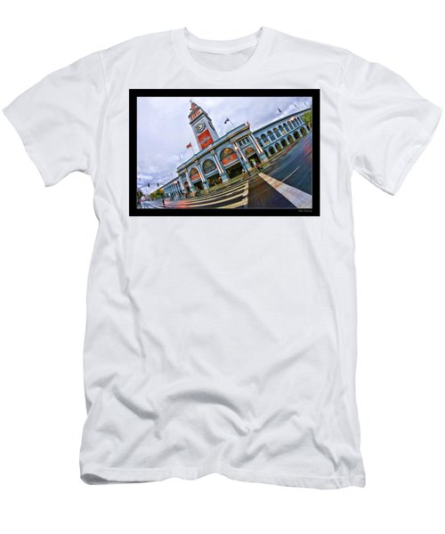 San Francisco Ferry Building Giants Decorations. Men's T-Shirt (Athletic Fit)